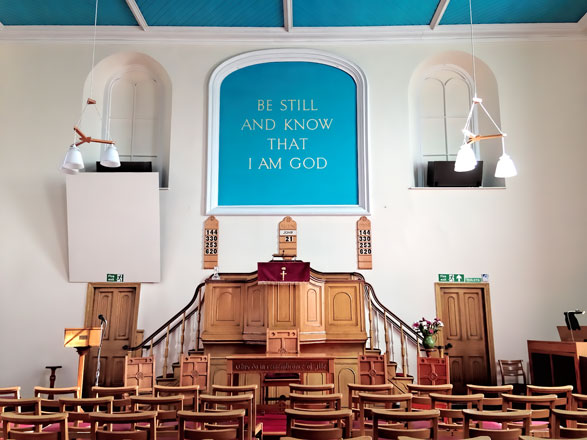 Chardsmead Baptist Church - Inside The Chapel